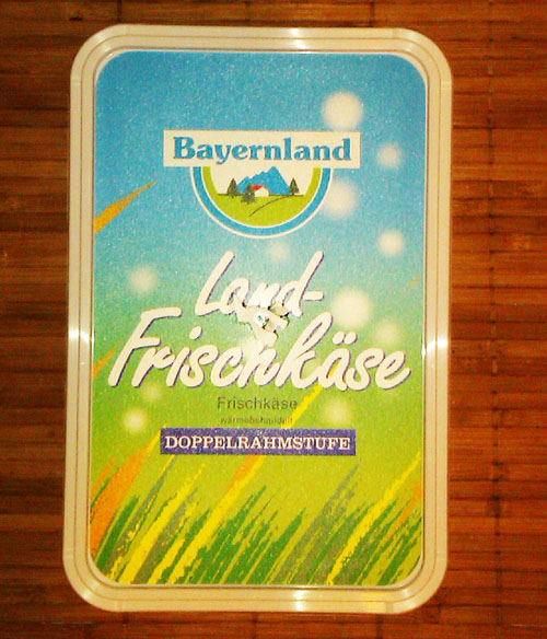 Soft cream cheese BayernLand 1.5kg 26%