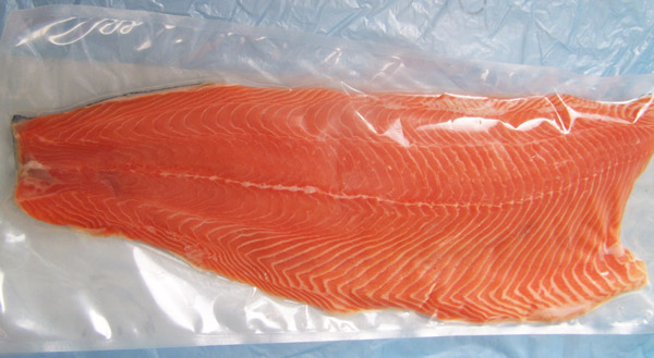 Salmon Fillet Trim C 1.6-2.2kg vacuum frozen