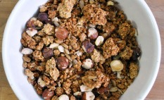 Organic Hazelnut and Vanilla Luxury Granola 500g