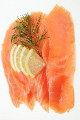 Superior Salmon fillet smoked and sliced, 1kg vacuum chilled